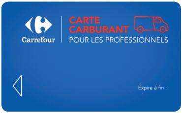 Carte carburant Carrefour