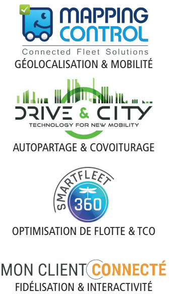 Mapping control, Drive & City, Smartfleet